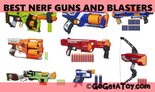 best nerf guns and blasters