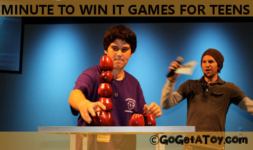 Best minute to win it games for teens
